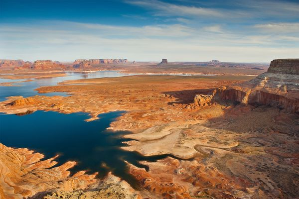 Truth is Lake Powell Level is really low and getting lower. Cracked Earth 2013