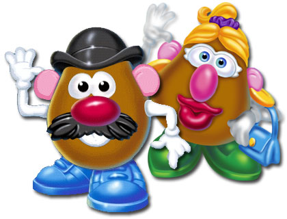 GMOZ Mr and Mrs Potato Head