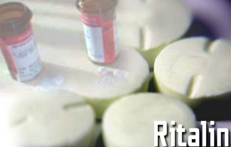 Ritalin a fancy name for fluoride. The Truth will set you Free.