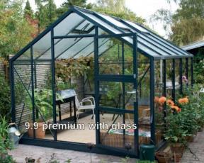 All Weather heavy duty Juliana Premium Greenhouse