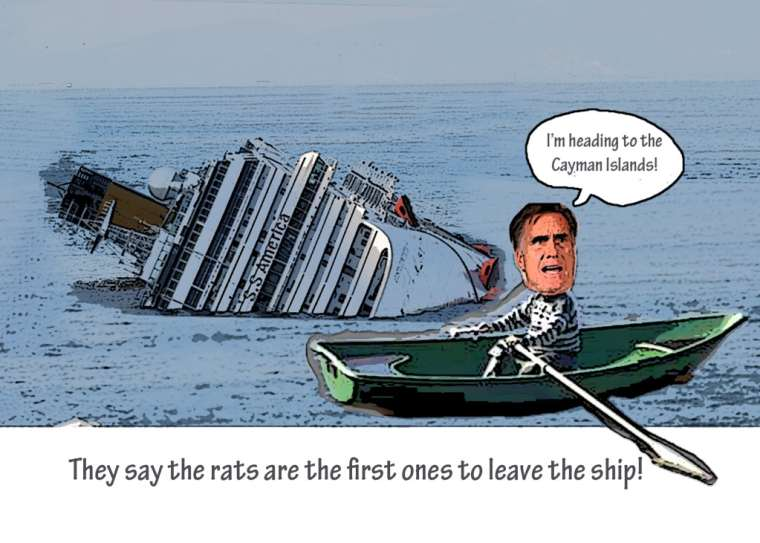 The Rats Deserting the ship  No Great lose here