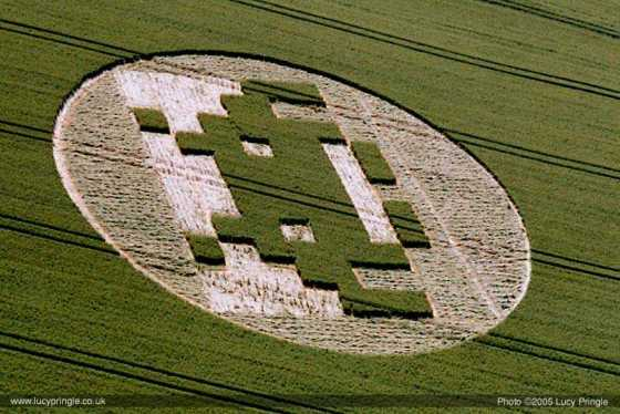 Crop Circles Pranks are some times obvious
