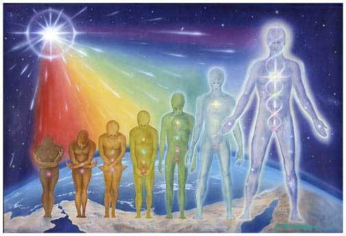 Changing Human FormTo Crystalline Humans of the 5th Dimension