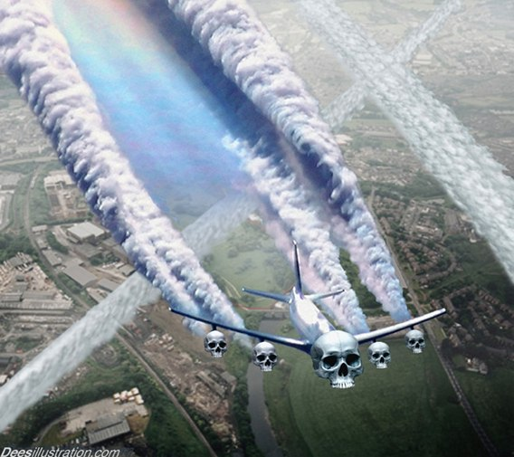 Chemtrails with Nanobots