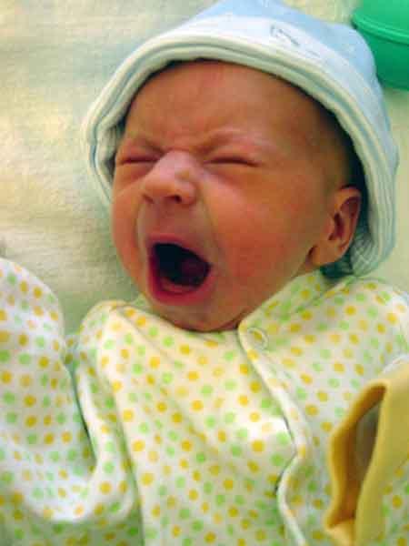 Yawning Baby?