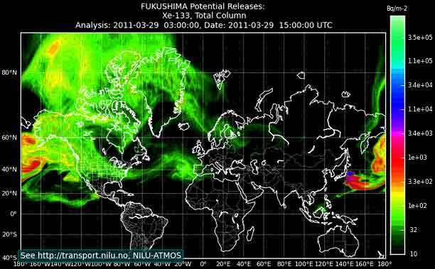Radiation across the planet