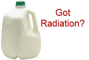 Half Gallon of radioactive Milk 2%