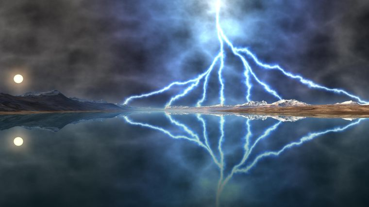 Lightening Reflection