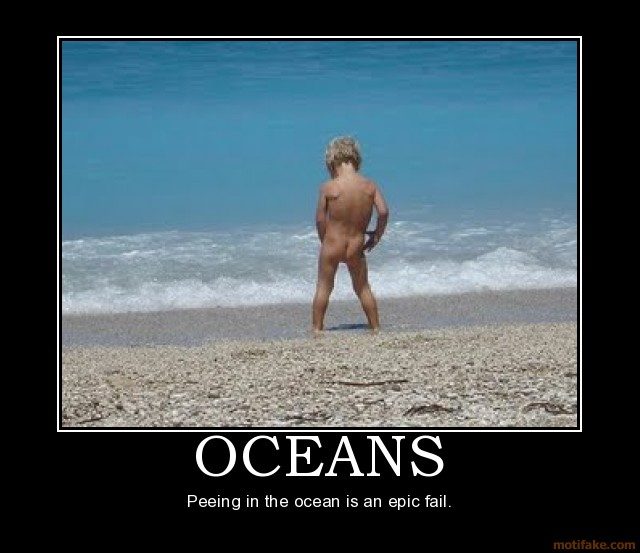 Peeing in the Ocean
