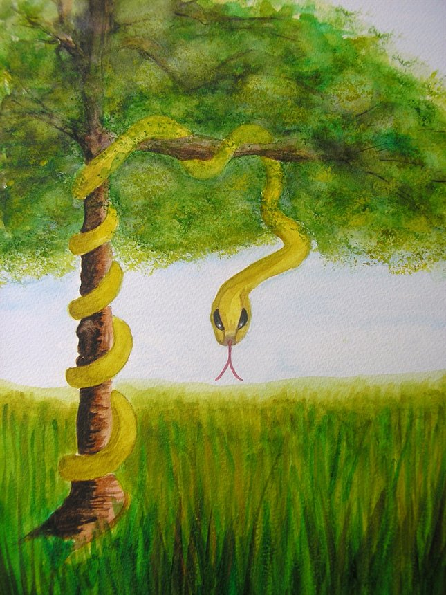 Snake Totem and the tree of Knowledge