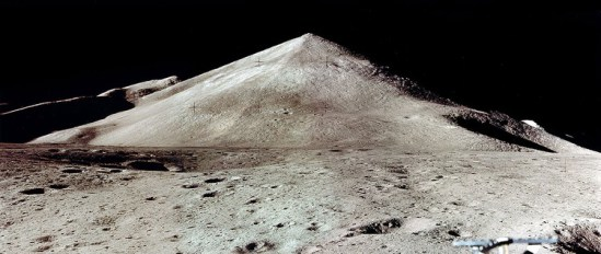 Pyramid on the Moon