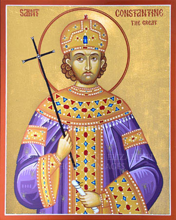 Constantine the Great In GOD We Trust Not.