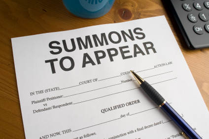 Summons to Court