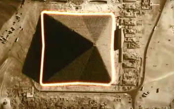 Great Pyramid with eight sides