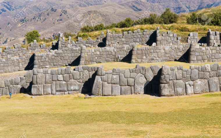 ancient-sacsayhuaman-incan-ruins-outside-of-cusco-peru-stock-photo